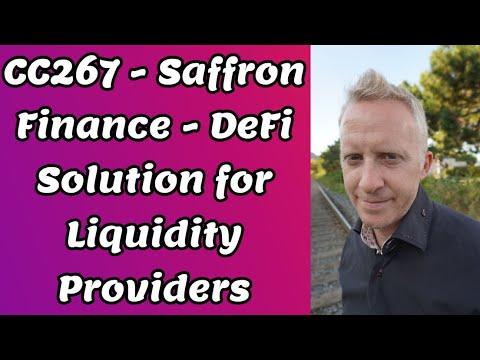 CC267 - Saffron Finance - DeFi Solution for Liquidity Providers