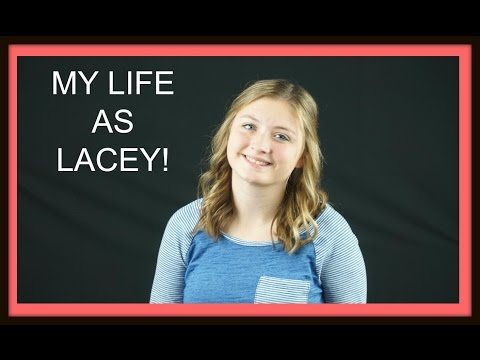 MY LIFE AS LACEY! (Bedroom tour)