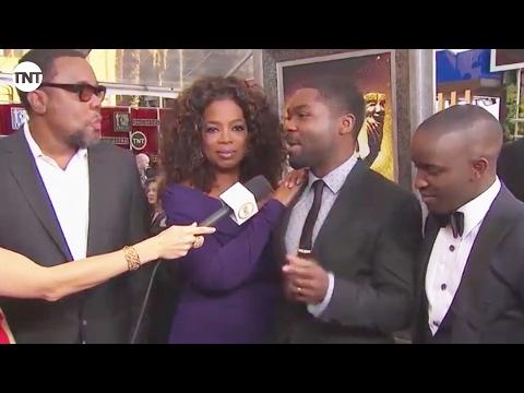 The Butler's Oprah Winfrey, Lee Daniels, David Oyelowo, & Elijah Kelley | Red Carpet | SAG Awards