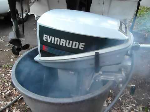 Evinrude 15 Hp >> 1988 evinrude 15hp running great! - YouTube