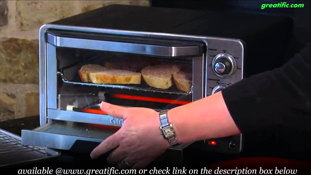 Cuisinart Tob 40 Custom Classic Toaster Oven Broiler Youtube