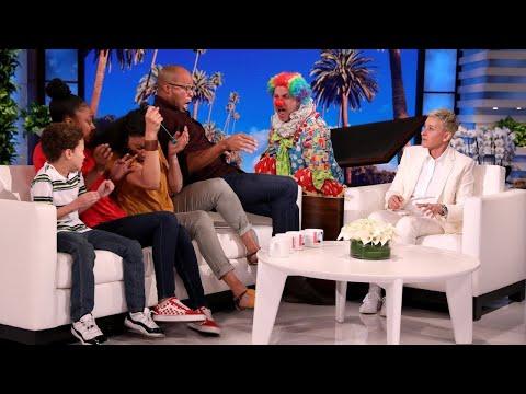 Ellen Has a 'Scary' Surprise for Deserving Family