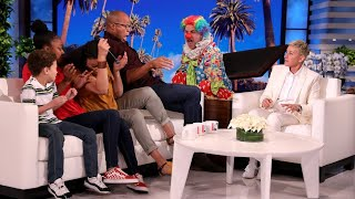 Download Ellen Has a 'Scary' Surprise for Deserving Family Mp3 and Videos