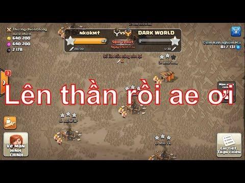 NMT   Clash of clans   Trận war kiếm gần như full sao của hội nmt