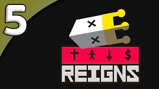 Reigns *First Taste* - 5. Hard of Hearing - Let's Play Reigns Gameplay