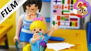 Playmobil Film polski | HANIA MA ZANIK PAMIĘCI 1. Klasówka z matmy z Panią Liczydło! | Serial