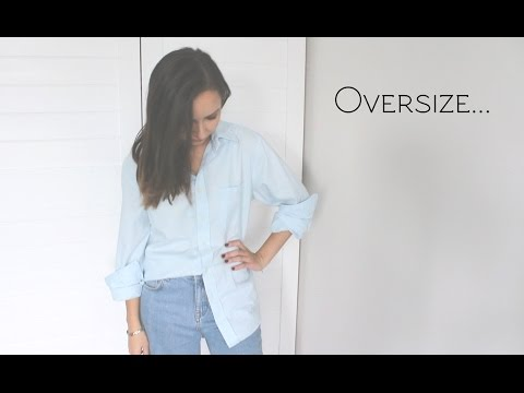Как носить объемные вещи (oversize) и не казаться больше?