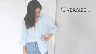 видео Как носить мужскую рубашку девушке