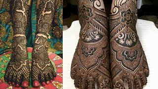 Bridal Feet Mehndi Design || Mehndi Design for Legs || Kaur Trends