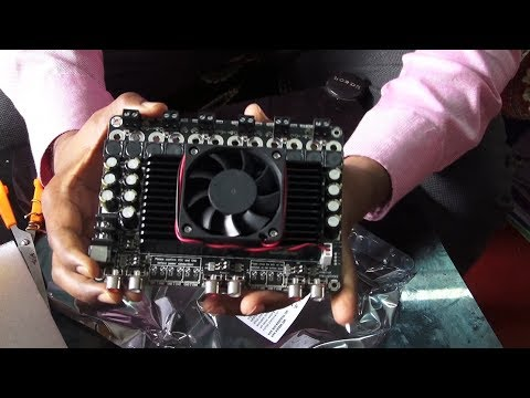 Class D Audio System 600 watt Class D 5.1 Home theatre Digital Sound