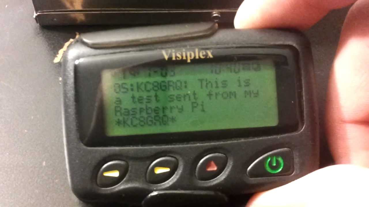 Amateur Radio : RaspberryPi and Ham Radio POCSAG Paging