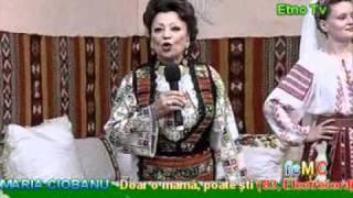 MARIA CIOBANU - Doar o mamă poate şti ('83.E [28iun10, direct, Etno Tv]); MARIACIOBANU.org