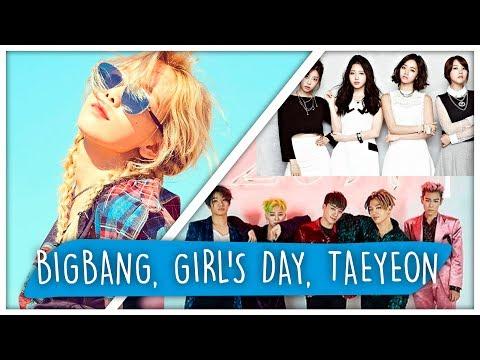 REAGINDO A BIG BANG, TAEYEON, GIRL'S DAY (K-POP)