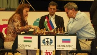 Defensa Siciliana - Gran maestro Garry Kasparov vs. Judit Polgar (Ataque Inglesa)