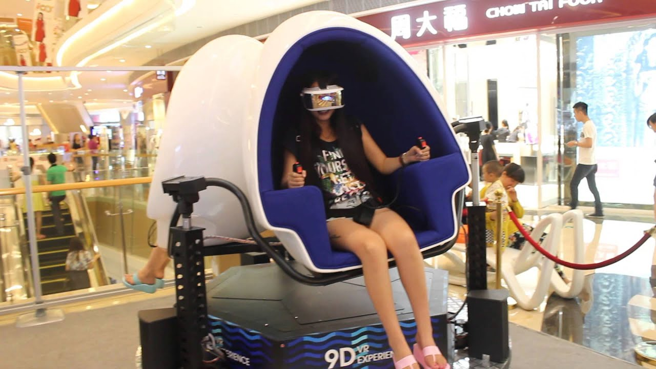 9D virtual reality cinema from the original 9d vr cinema