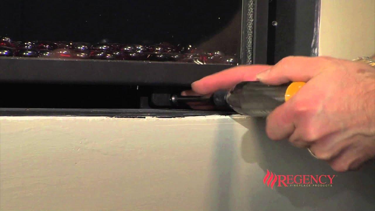 How to Clean the Glass on Regency Horizon HZ30E HZ40E Gas