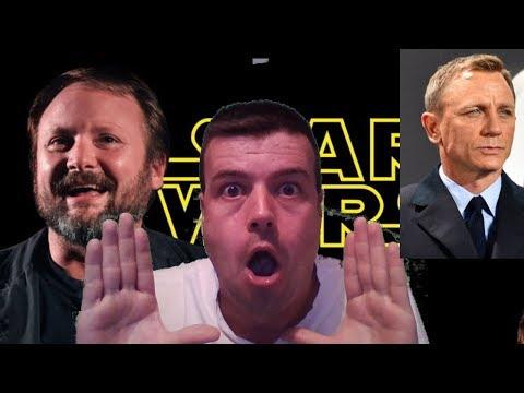 Rian Johnson y Daniel Craig. Peligra la trilogía de STAR WARS?