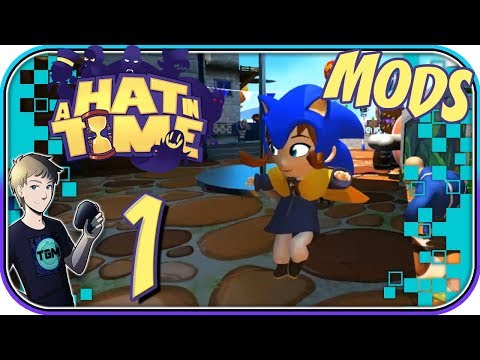 A Hat in Time Modded Levels - Part 1: THIS IS HEAVEN!