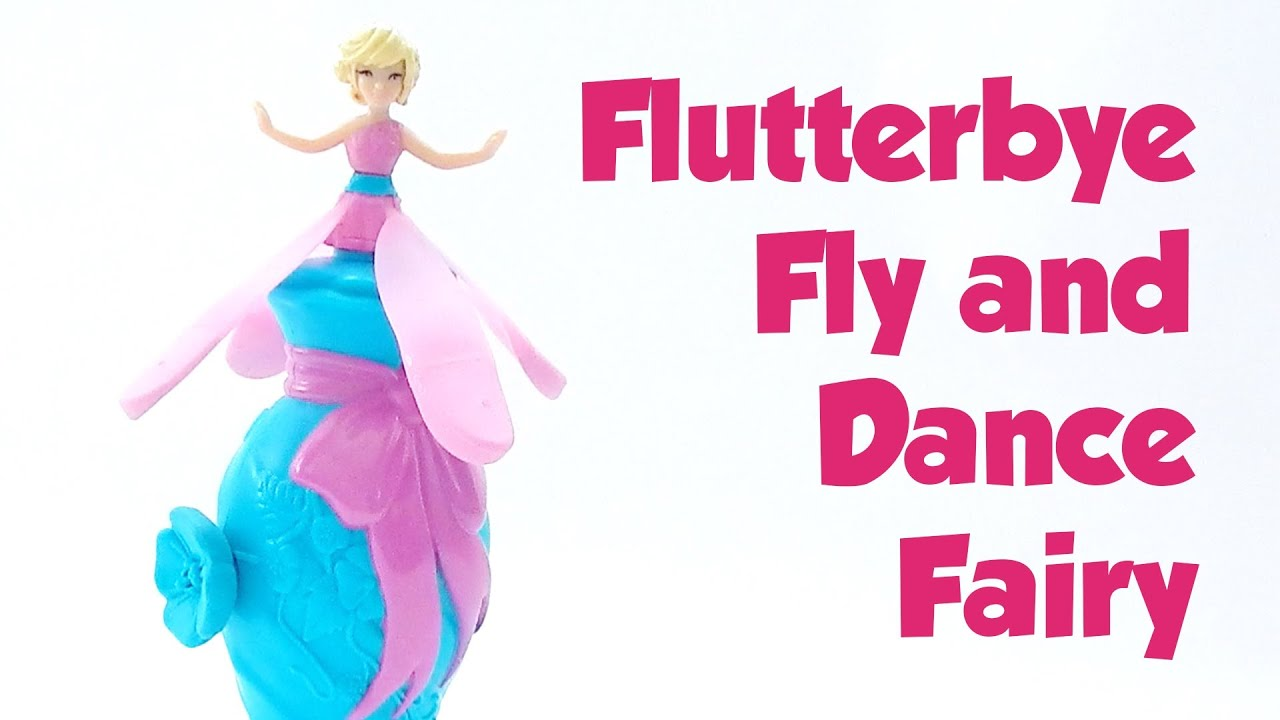 Flutterbye Fly and Dance Fairy Toy Review