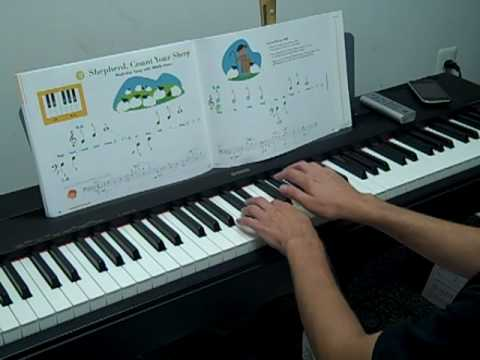 Piano Tutorial - Shepherd, Count Your Sheep - My First Piano - Level A