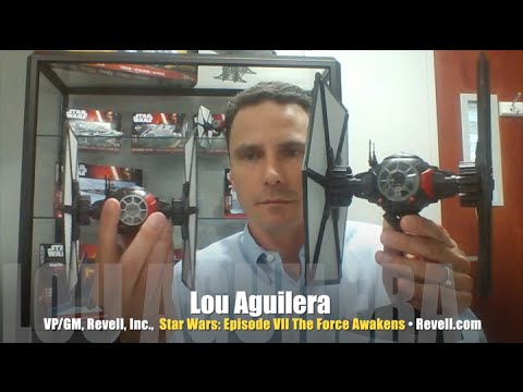Revell shows off new Star Wars: The Force Awakens models! INTERVIEW  3/4