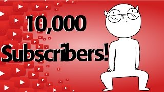 This youtube dream is becoming a reality | 10,000 Subscribers!