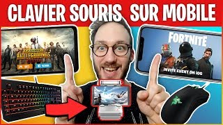 JOUER CLAVIER SOURIS À FORTNITE ET PUBG MOBILE - GAMESIR X1 BATTLEDOCK