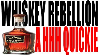 The Whiskey Rebellion Explained In One Minute