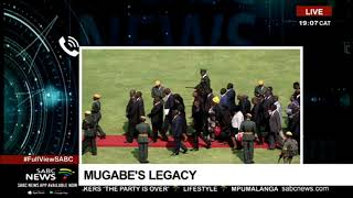 Mugabe's body to arrive at his rural home on Monday