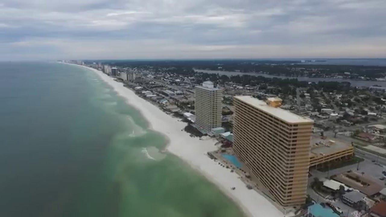 Aerial Photos Panama City Beach Florida