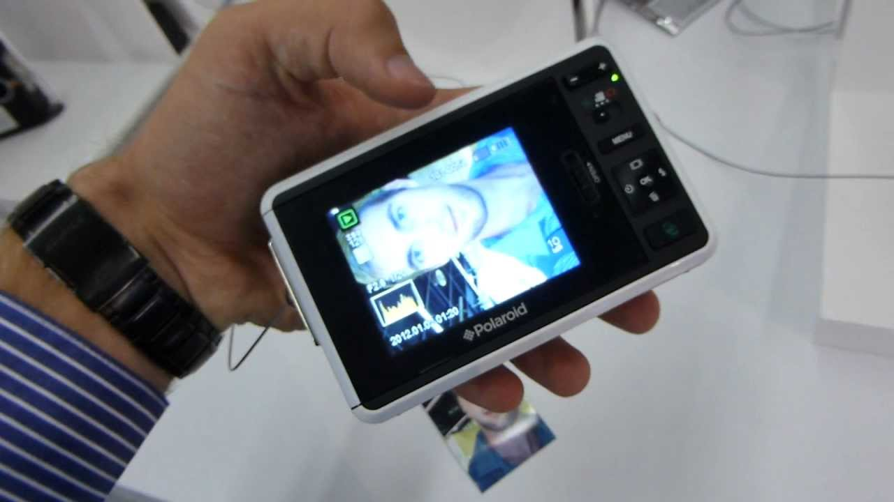 Polaroid Z2300 instant Print Digital Camera Hands on [EN] - YouTube