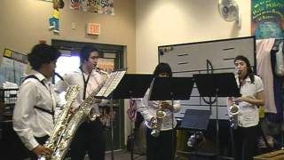 2011 BIBDA Solo Ensemble Competition - Sinfonia No. 3 - Saxophone Quartet