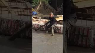 120 m3 Schuimbeton storten in Middelstum