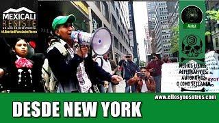 Mexicanos y latinos en NY le responden a Aaron Schlossberg