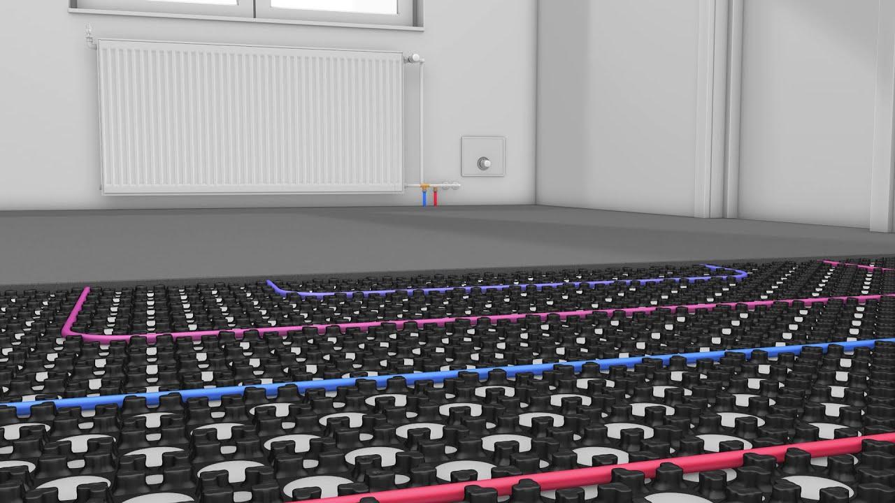 Retrofit Low Profile Underfloor Heating