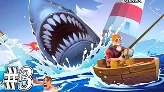 JAWS.io - Gameplay Walkthrough Part 3 - Giant Shark is in RAMPAGE!!!