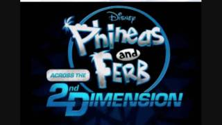 new 2011 phineas ferb across the 2nd dimension promo in fabulous 2d
