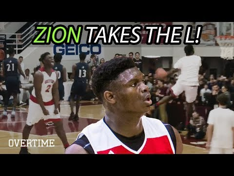 ALMOST Zion Williamson VS LaMelo PART 2! Spartanburg Day Battles Chino Hills At Hoophall Classic!