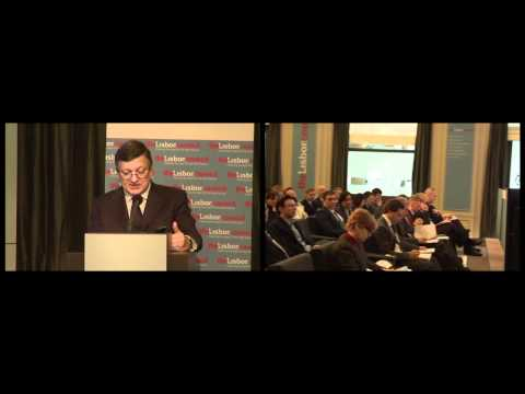 Barroso addresses The Europe 2020 Summit at the Lisbon Council
