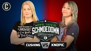 Innergeekdom Tournament! Rachel Cushing VS Mara Knopic - Movie Trivia Schmoedown