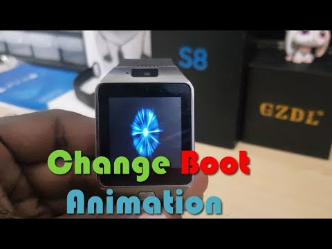 How to change boot Animation on DZ09 Easy