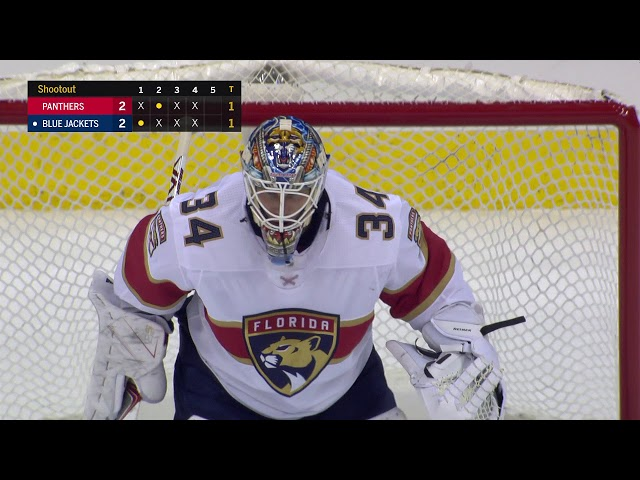 Anderson's goal lifts Blue Jackets to victory in an eight-round shootout
