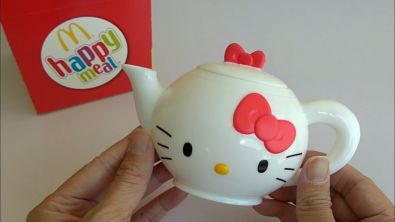 Hello Kitty Mcdonald S Toys : Mcdonald s happy meal toy hello sanrio tea set