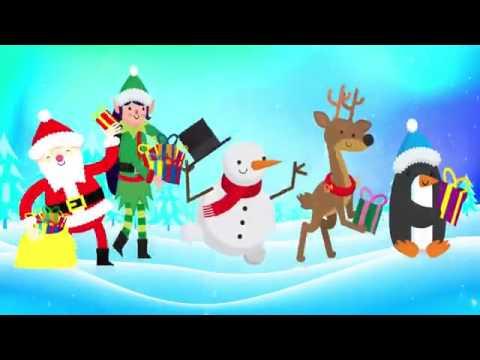 Çocuk şarkıları Parmak Ailesi Noel Baba yılbaşı