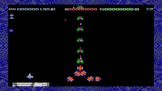 Preview: Deluxe Galaga running emulated on Shield TV