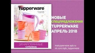 Спецпредложения Tupperware апрель 2018