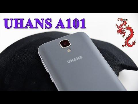 UHANS A101 распаковка //4G LTE, GORILLA GLASS 4, HD LTPS 2.5D