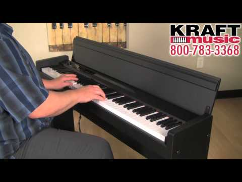 Kraft Music - Korg LP-380 Digital Piano Demo