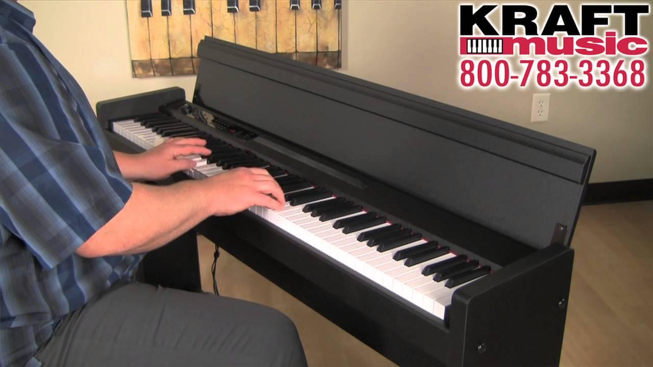 kraft music korg lp 380 digital piano demo youtube. Black Bedroom Furniture Sets. Home Design Ideas
