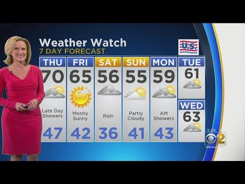 CBS 2 Weather Watch (5 PM, April 24, 2019)